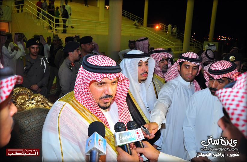 تغطية نائب أمير منطقة القصيم