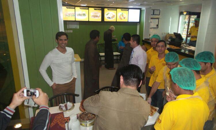 افتتاح مطعم فلفلها ببريدة