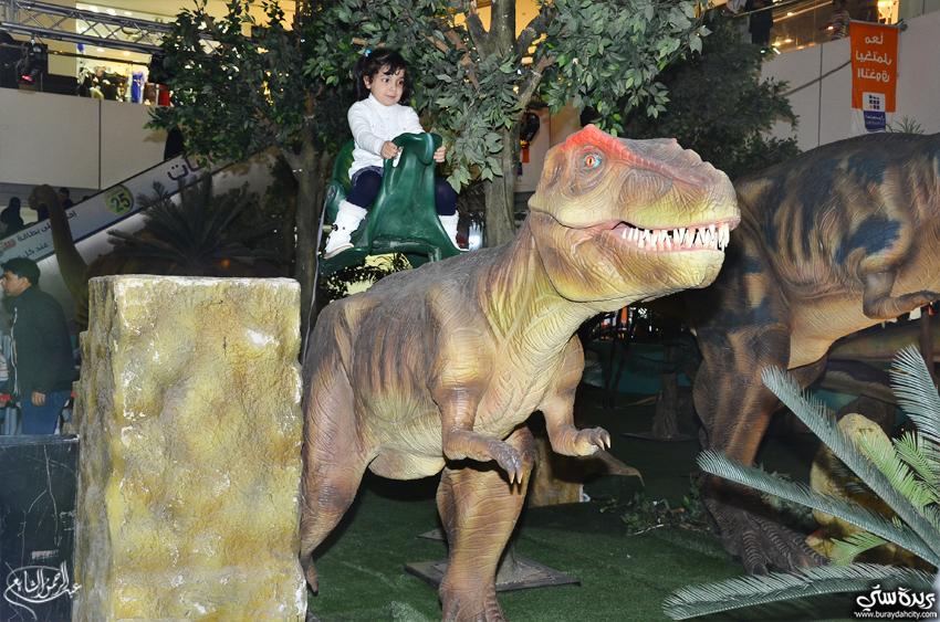 صـور إفتتاح عالم الديناصورات بالعثيم