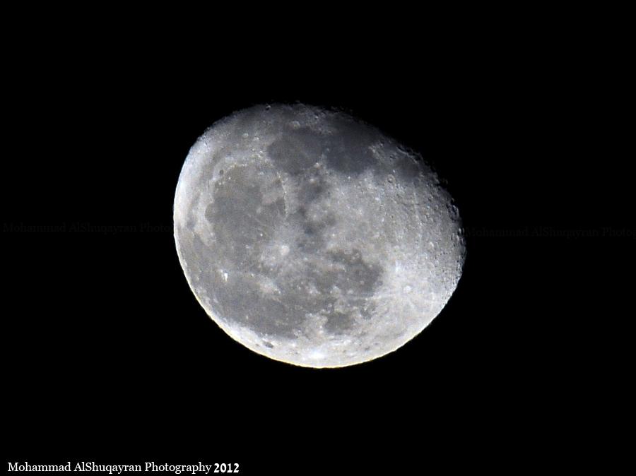 تجربتي تصوير القمر اليوم 1433